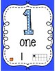 Bright Classroom Numbers 0-20 in English
