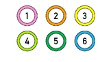 Bright Classroom Numbers