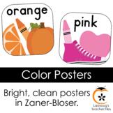 Color Posters (Zaner-Bloser)