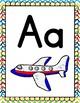 Meet the teacher - Dollar deal - Bright Color Alphabet Posters classroom decor