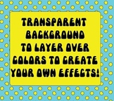 Bright Color Polka Dot Overlay - Create Your Own Backgrounds