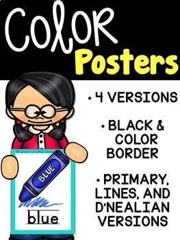 Bright Color Posters