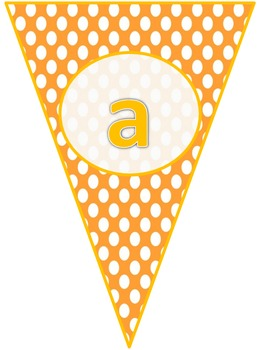 Bright Colored Banner Pennants
