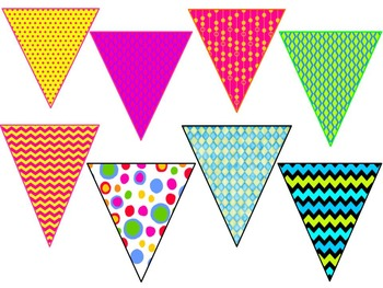 Bright Colorful Banners for Your Classroom