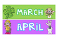 Bright & Colorful Class Birthdays!- Editable