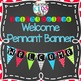 {BRIGHT COLORS} Classroom Banners Set