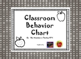 Bright Colors Behavior Chart