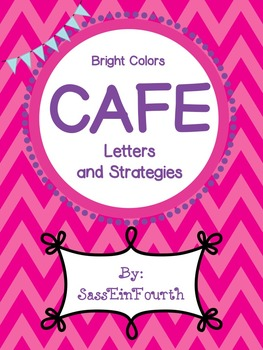Bright Colors CAFE Posters