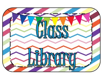 Bright Colors Class Library Genre Set