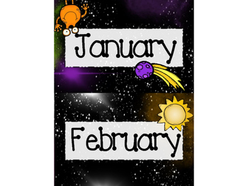 Space Theme Classroom Decor Pack