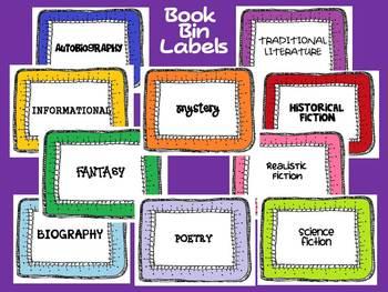 Bright Colors Classroom Library Set