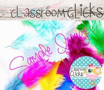 Bright Colors Feathers Image_178: Hi Res Images for Bloggers & Teacherpreneurs