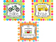 Bright Colors How We Go Home Printable Chart. Classroom  Management.