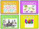 Bright Colors Library Labels