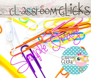 Bright Colors Paperclips Image_171:Hi Res Images for Bloggers & Teacherpreneurs