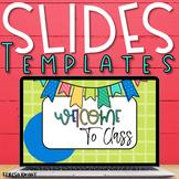 Bright Colors Slide Templates for Google Slides & PowerPoi