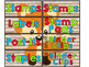 Bright Colors Woodland Animals Teacher Toolbox Labels (Editable)