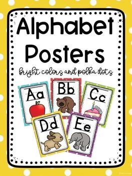 Polka Dots Alphabet