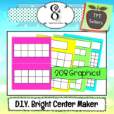 Learning Center Maker Bright Colors