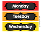 Bright Days of the Week Drawer Labels FREEBIE