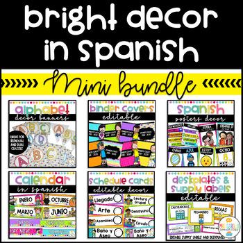 Bright Decor in Spanish Mini Bundle