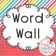 Bright Diagonal Stripe Word Wall Pack
