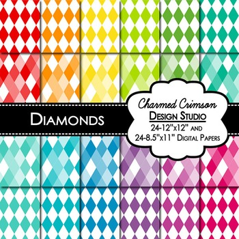 Bright Diamond Digital Paper 1330