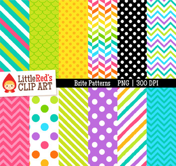 Bright Digital Paper Patterns