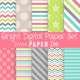 Bright Digital Paper Set