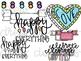 Bright Doodles Digital Clip Art Set- Color and Black Line COMBO
