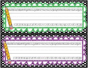 Bright Dots Classroom Kit - {D'Nealian}