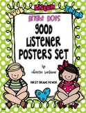 Bright Dots GOOD LISTENER Poster Set