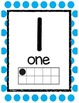 Number Posters--Bright Color Dots