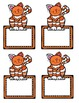 Bright Dots and Colorful Cats Classroom Decor Pack FREE SAMPLER