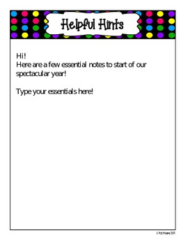 Bright Dots Open House Essentials