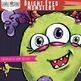 Young Colorful Monsters Clip Art - Kid Monsters