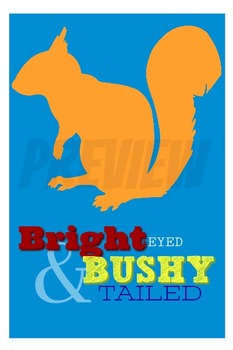 Bright Eyed Poster