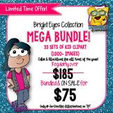 Bright Eyes MEGA Bundle Kids Clipart