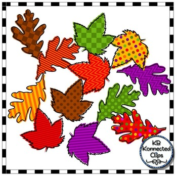 Bright Fall Letters, Numbers, and Leaves