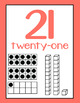 Bright Farmhouse Number Posters