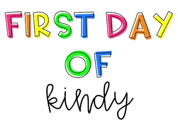 Bright First Day Of... {Back to School Student Photo Opportunity}