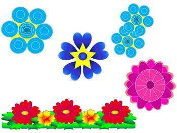 Bright Flower CLIP ART