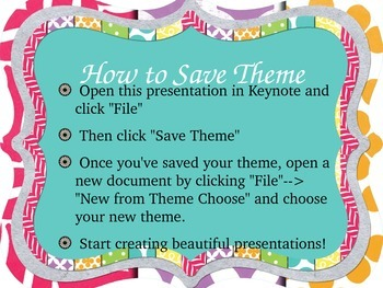 Bright Frame Keynote Theme--Easy to Install!