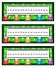 Bright Frog Name Tags - Printable Name Tags