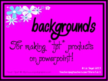 Bright & Fun Backgrounds & Borders