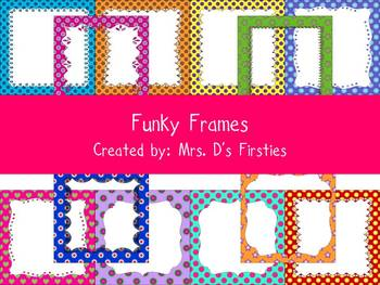 Bright, Funky Frames