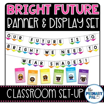 Bright Future Bulletin Board Banner and Display Set