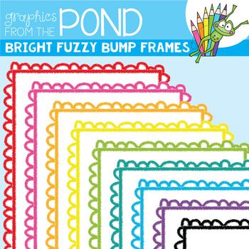 Bright Fuzzy Bump Borders