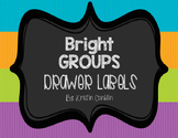 Bright GROUP Drawer Labels