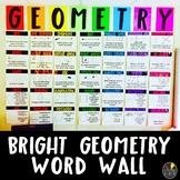 Bright Geometry Word Wall